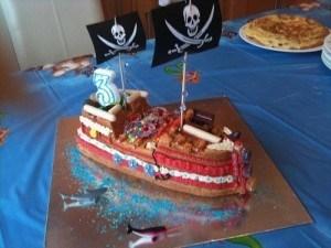 Fiesta jake y los piratas 111