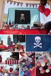 Fiesta jake y los piratas 45