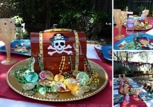 Fiesta tematica jake y los piratas