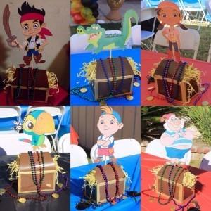 Fiesta jake y los piratas 88