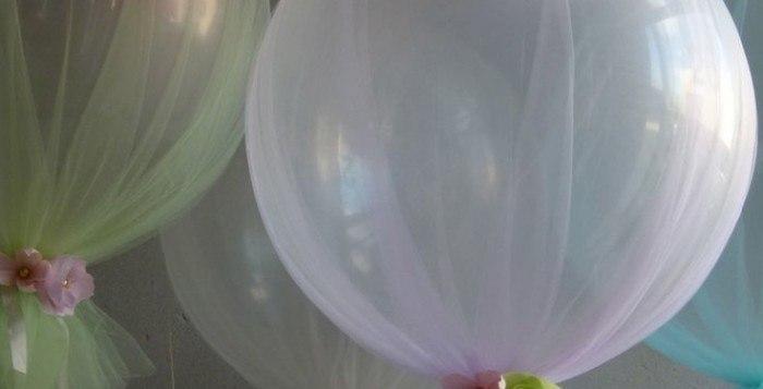 globos con tul