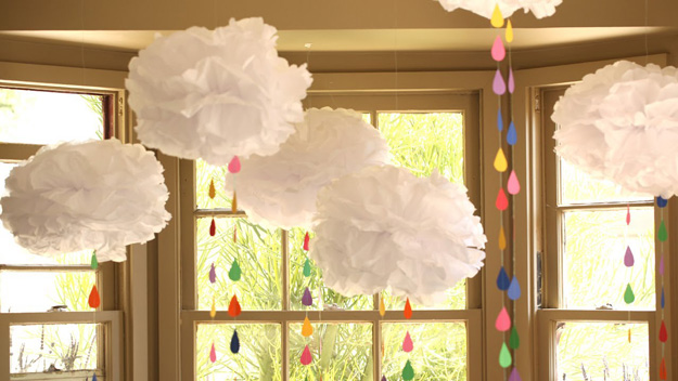 Decoracion De Nubes Para Baby Shower.Decoracion Baby Shower Con Nubes
