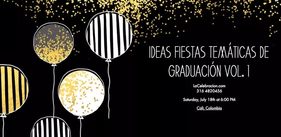 Decoracion Graduacion Bachiller ~ Fiestas tem?ticas de graduaci?n Vol 1  LaCelebracion com