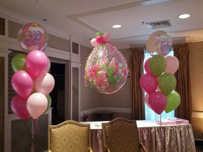 ideas para decorar con globos