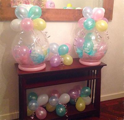 ideas para decorar con globos
