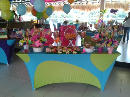 Fiestas infantiles manteleria spandex